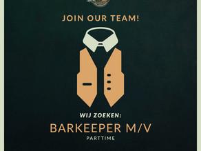 Vacature Barkeeper