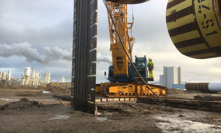 Port of Rotterdam news article about Vibro-drill Tests   April 16 2019