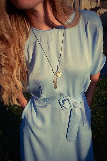 White Howlite Necklace