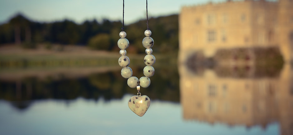 Lotus Jasper Necklace