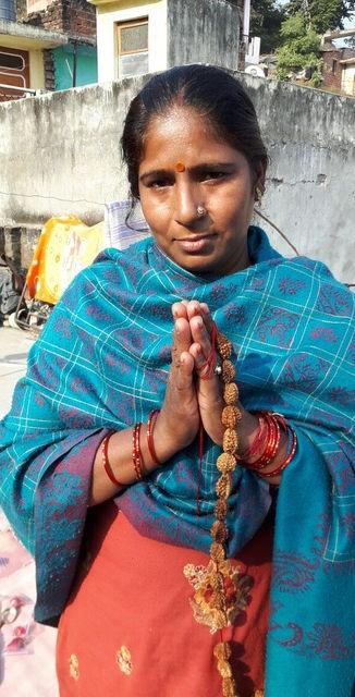 Mala maker in India