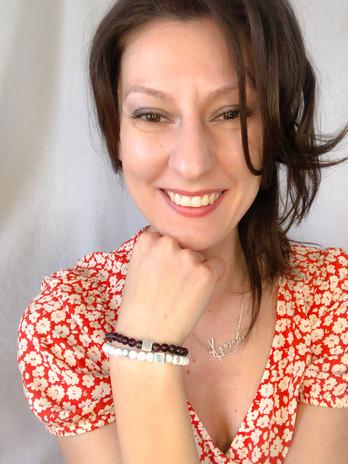 Krema Angelova Branded Bracelet Crystal Jewellery Sustainable Gemstones Solid Silver K Cha