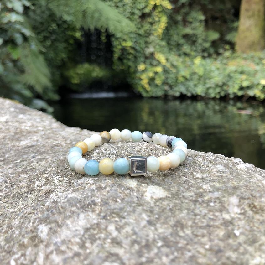 Krema Angelova Branded Bracelet Crystal