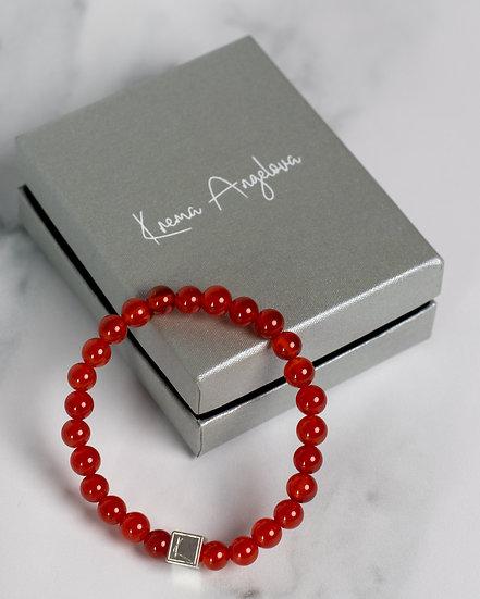 Energiya Carnelian Bracelet