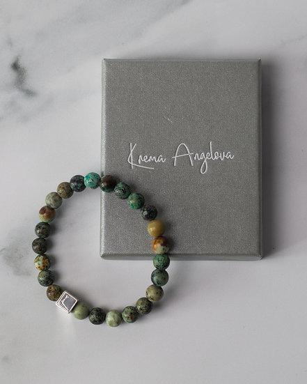 Energiya African Turquoise Bracelet