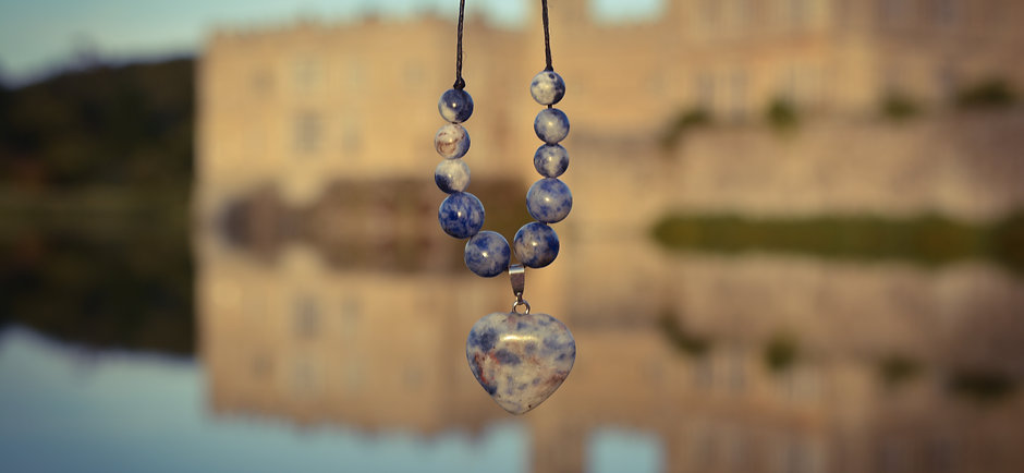 Heart Sodalite Necklace