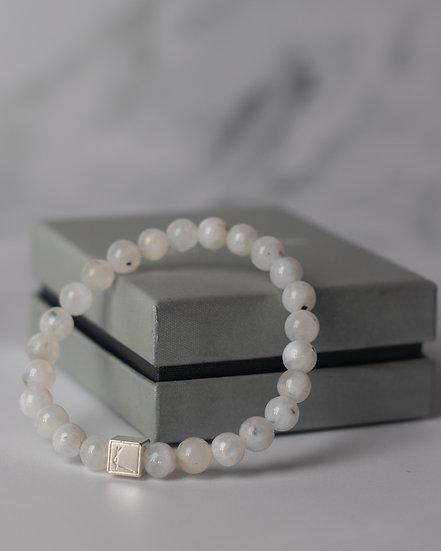 Energiya White Labradorite Bracelet