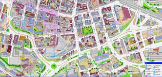 Huddersfield Town Centre Map