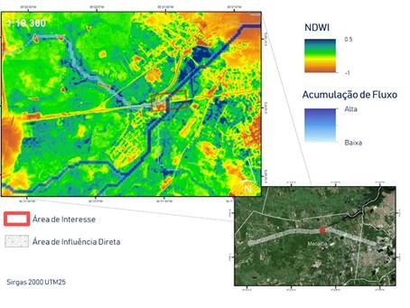 Uso da integração de analise multiespectral para áreas ambientais