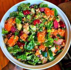 spring salad vegan salad