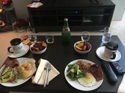 couples breakfast
