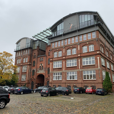 """Neuer Hamburg Standort                         in der """"Alten Schokoladenfabrik"""""""