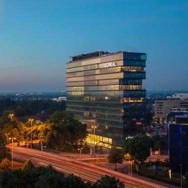 Horizon, Arbeitswelt des L'Oréal Hauptsitzes in Düsseldorf