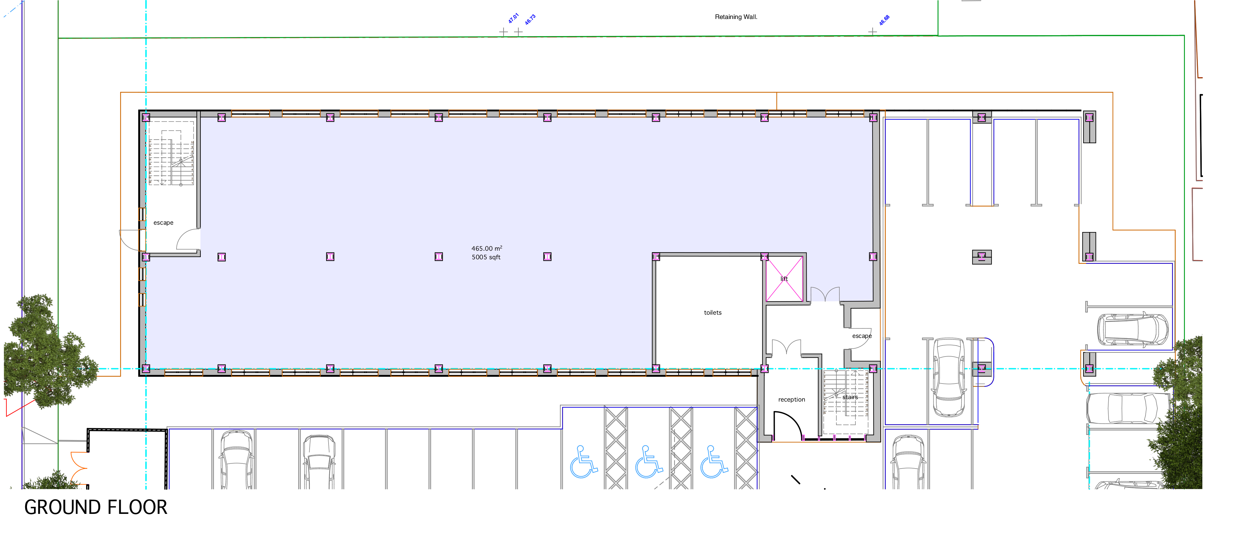 Office Ground Floor Plan