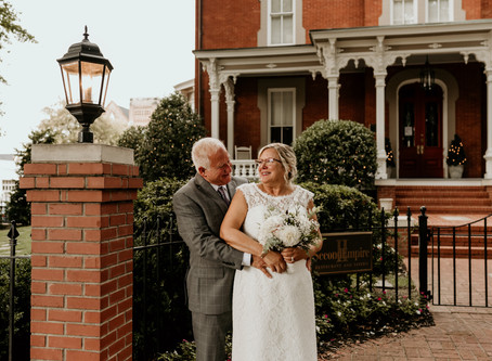 Brian & Betty || Raleigh, NC | Intimate Wedding
