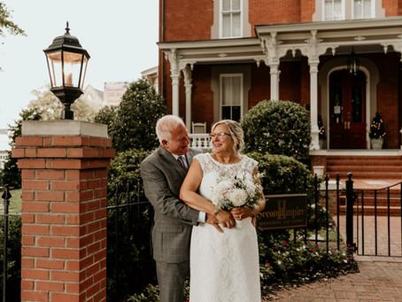 Brian & Betty || Raleigh, NC | Intimate Wedding