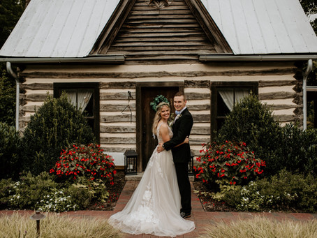 Chapel Hill Carriage House, NC  Wedding // Niko + Alexa
