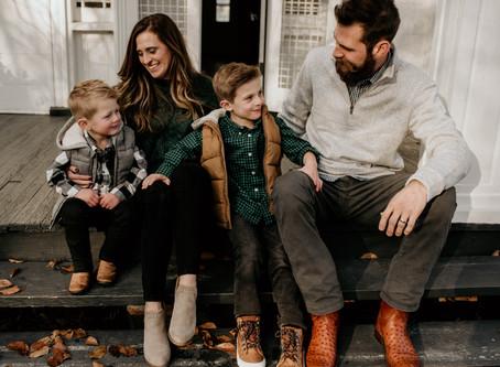 The Kimak Family || Historic Oak View Park, NC