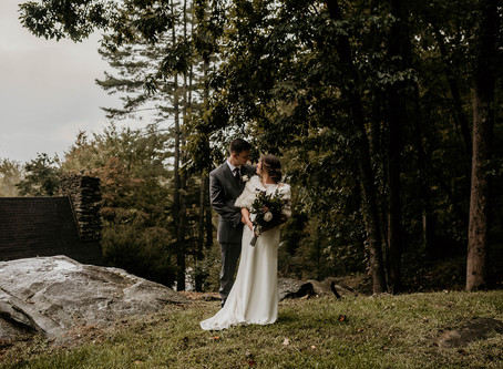 Lindsay & Calvin || Asheville, NC Wedding