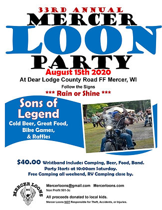Advanced Loon Party Ticket Donation