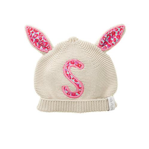 Bespoke Alphabet Patch | Little Lulu Knitted Cotton Hat