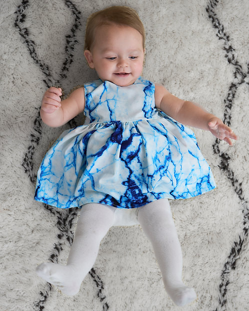 Arctic Marble | Little Lulu Dress