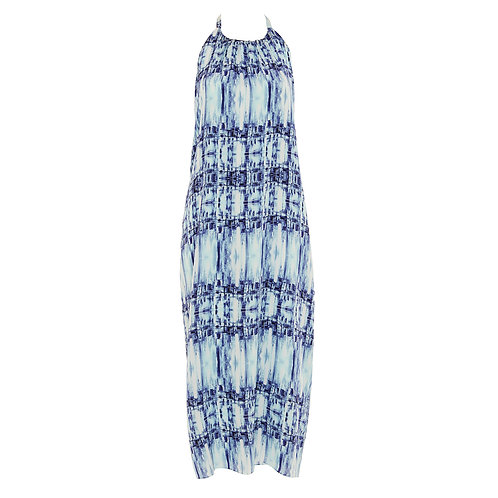 City Life   Halter Backless Maxi Dress