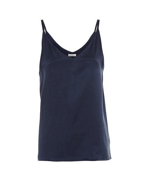 Navy Pure Silk | Cami Top