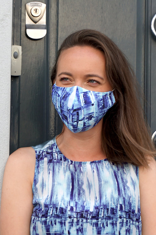 City Life   Face Mask