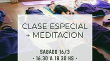 La Vinyasa hacia la Meditación - Clase Especial