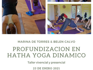 Clase especial - Profundización en Hatha Yoga Dinamico