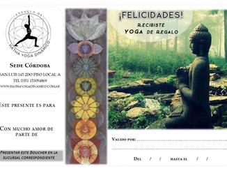 En esta NAVIDAD... Regala Yoga!!!!