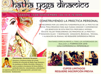 Taller de Hatha Yoga Dinámico - Sede Córdoba