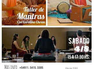 Taller de Mantras con Carolina Chrem