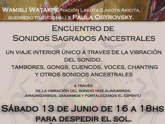 Encuentro Sonidos Sagrados Ancestrales
