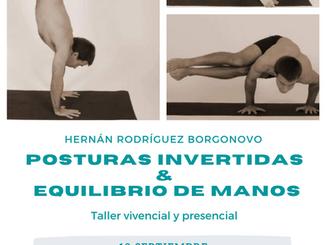 Taller de Posturas Invertida y equilibrio de manos