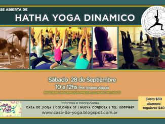 Clase Especial Hatha Yoga con Angeles