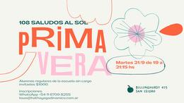 Primavera 2021 - 108 Saludos al sol + Yoga Nidra
