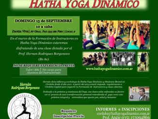 Clase Especial de Hatha Yoga Dinamico N°7