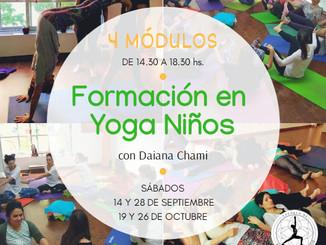 Nueva formación de Yoga Para Niños