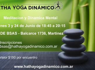 Junio - Encuentros de Meditacion en Sede Buenos Aires
