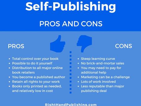 Traditional Publishing vs. Self-Publishing Part 3: Self-Publishing