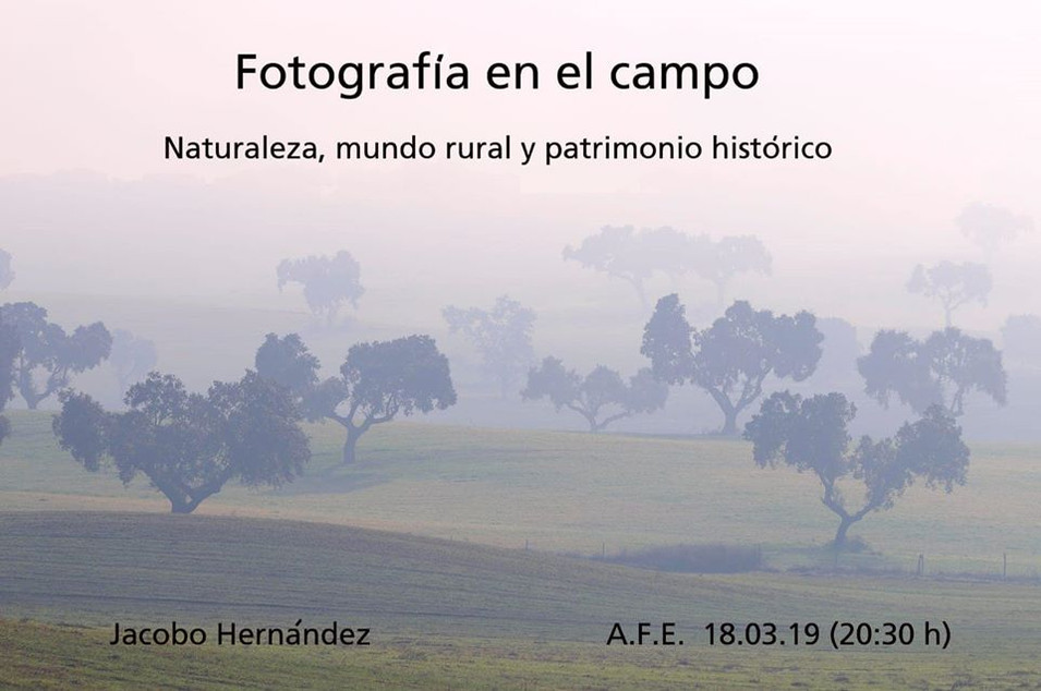 FOTOGRAFIA EN EL CAMPO