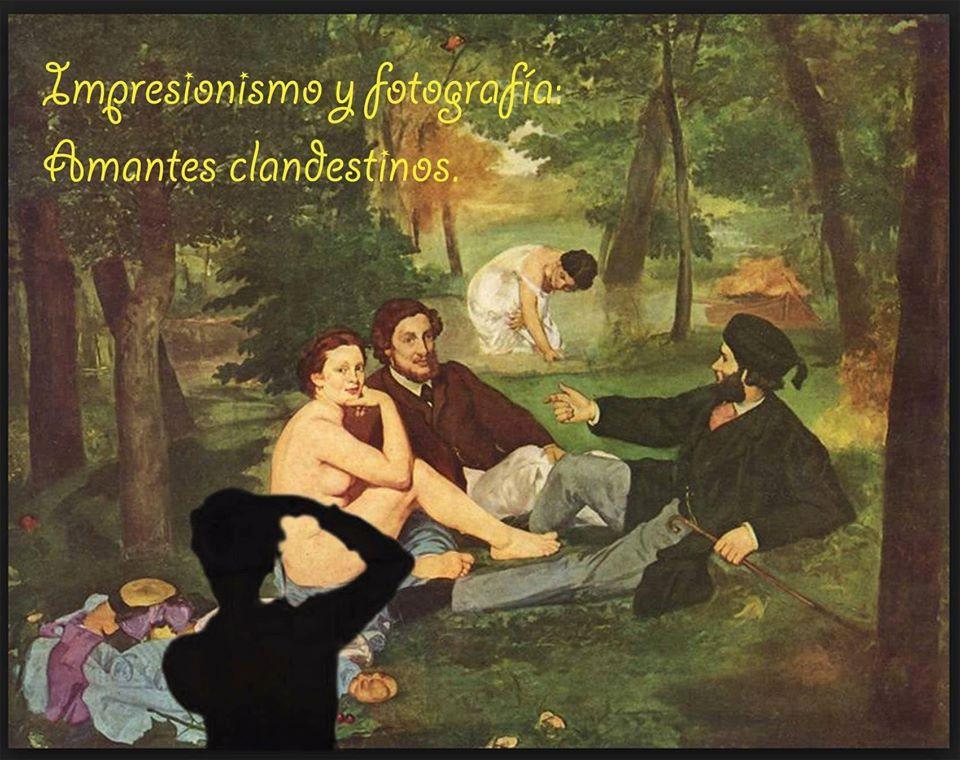 IMPRESIONISMO Y FOTOGRAFÍA: AMANTES CLANDESTINOS.