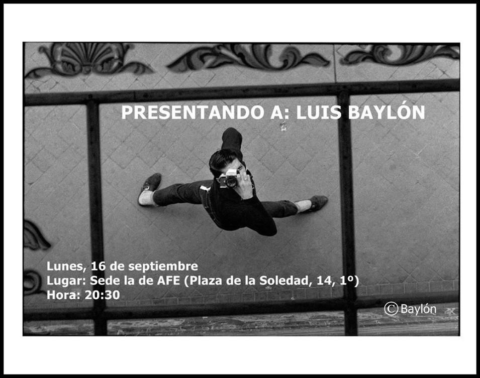 PRESENTANDO A LUIS BAYLÓN