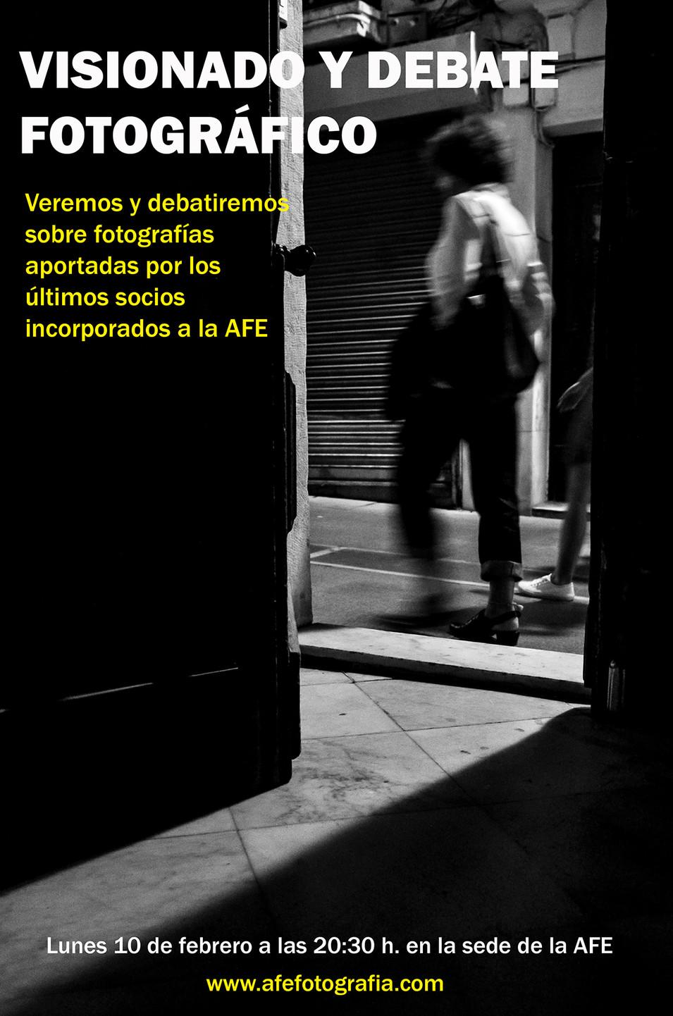 VISIONADO Y DEBATE FOTOGRÁFICO