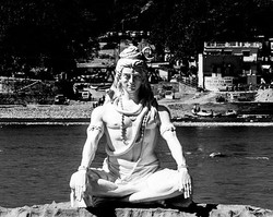 """""""Om Namah Shivaya OM"""" Destruction to all your impulses. One with your Inner Yogi, One with the Unive"""