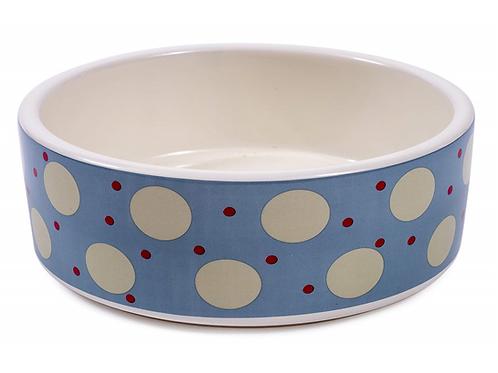 Ceramic Food / Water Bowl - Marine Spot
