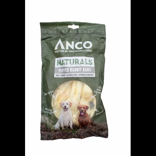 Anco Naturals Puffed Rabbit Ears - 100g
