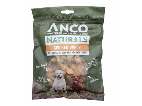 Anco Naturals Chicken Wings - 200g